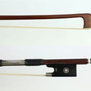 CS6/ 03 Pre-owned Viola bow by Daniel Moinel, Paris