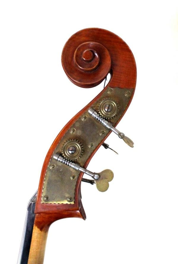 CS6/ 89 3/4 Double Bass by Ian K Highfield, circa 1986