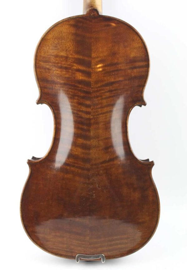 CS8/ 85d 1/4 Size German Saxon Violin circa 1900