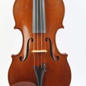 CS8/ 53a Handmade violin by William Terry McCool, Newark, circa 1975