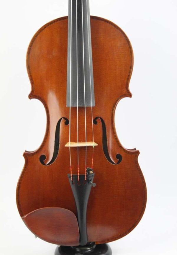 CS8/ 53a Handmade violin by William Terry McCool, Newark, circa 1975