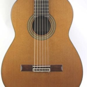 CS8/ 83a Classical guitar by Manuel Contreas, 2004, No 5
