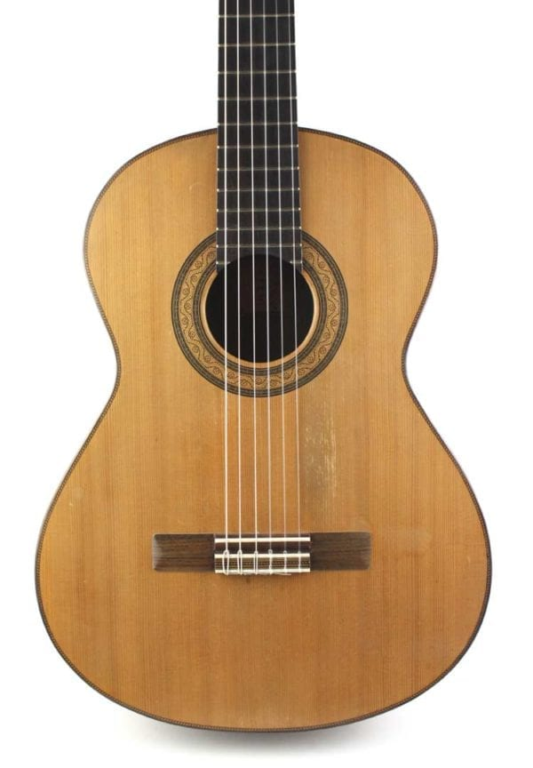 CS8/ 83b Classical guitar by Alan Lewis, Birmingham, circa 1980's