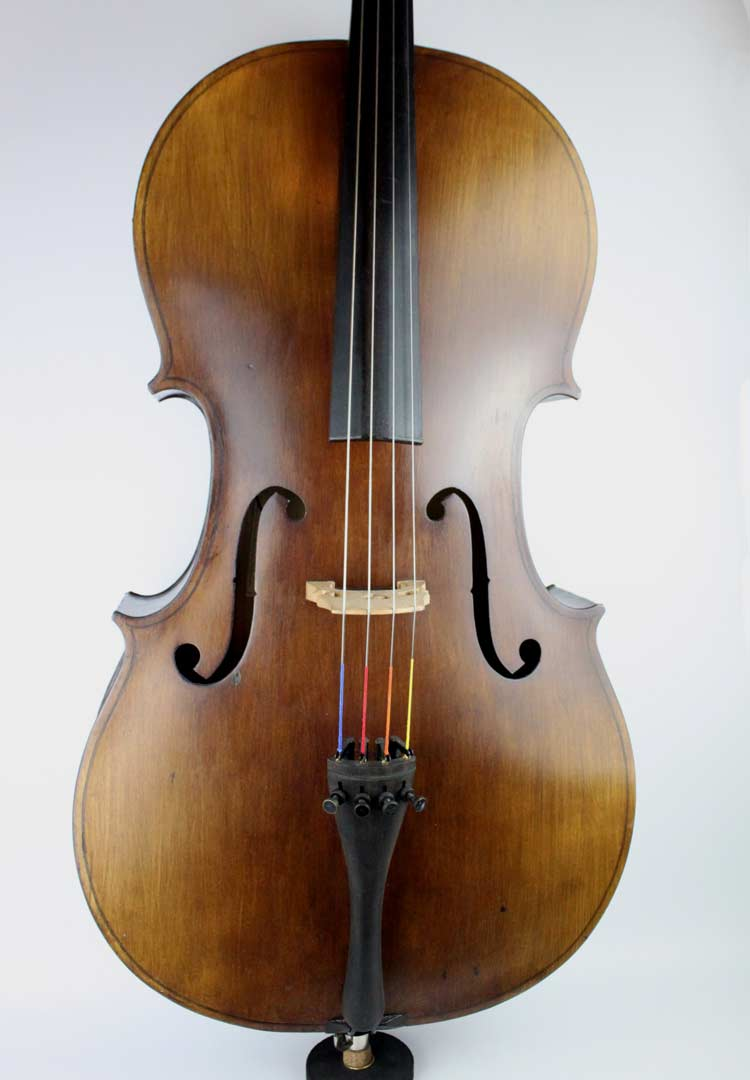 CS9/ 24b Romanian Electro-acoustic cello