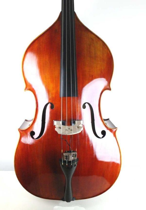 CST9/ 82H , Handmade SILVER SERIES 3/4 Double Bass by Akos Balazs, Hungary, circa 2019