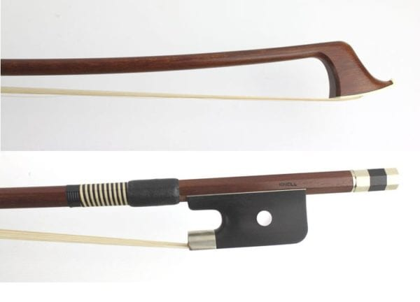 New 3/4 Double Bass bow , by Alfred Knoll , Germany