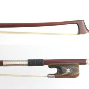 New Cello Bow, with horn frog, China