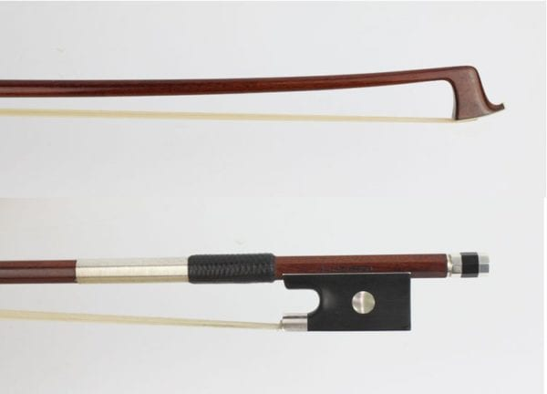 "New Violin bow, Branded ""Carlesso"" , Brazil"