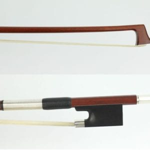 New violin bow; by Lefin, Switzerland