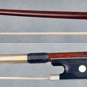 Antique violin bow by William Johnston