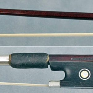 Antique violin bow by Daniel Schmidt
