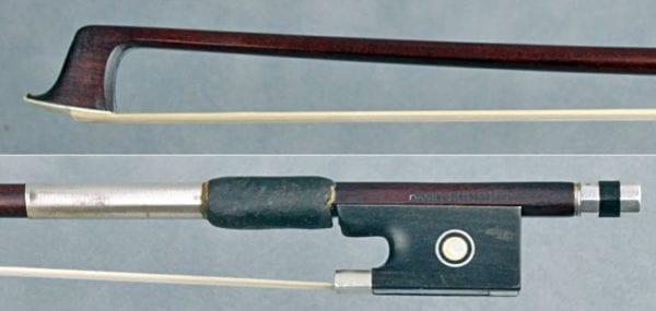 Antique violin bow by Daniel Schmidt